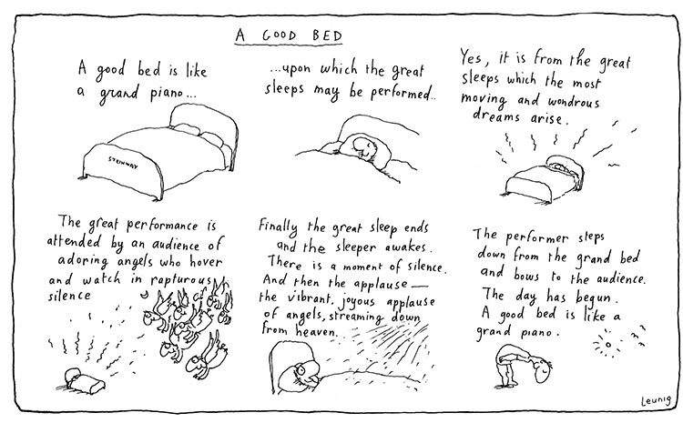 Leunig A Good Bed
